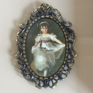 Other - Antique oval picture frame
